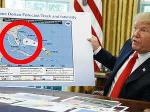 Altered hurricane map proves Trump 'right'
