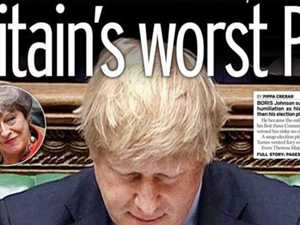 Britain's brutal front pages eviscerate Boris