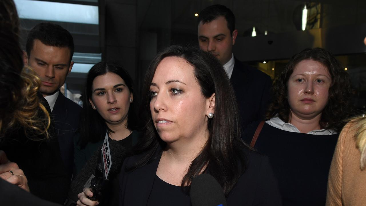 Kaila Murnain will be in the ICAC hot seat again on Thursday. Picture: AAP