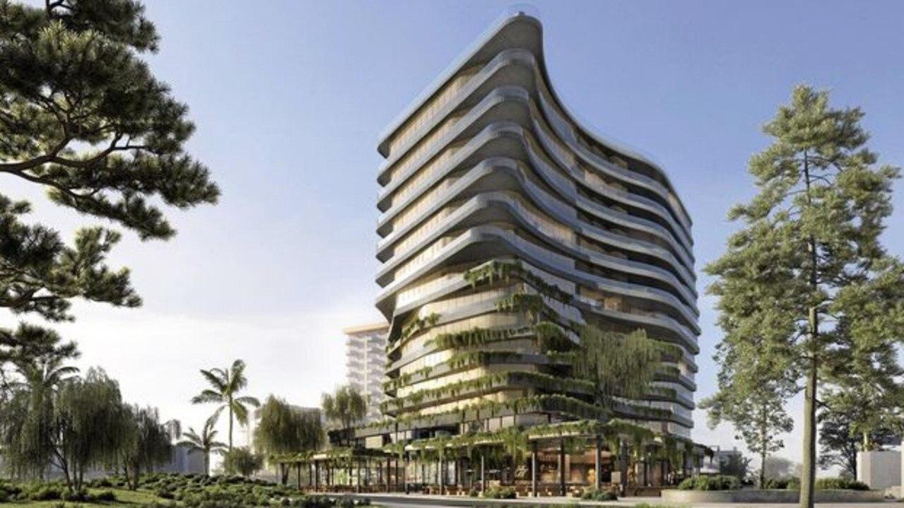 Proposed Aria Hotel for Mooloolaba on the Sunshine Coast