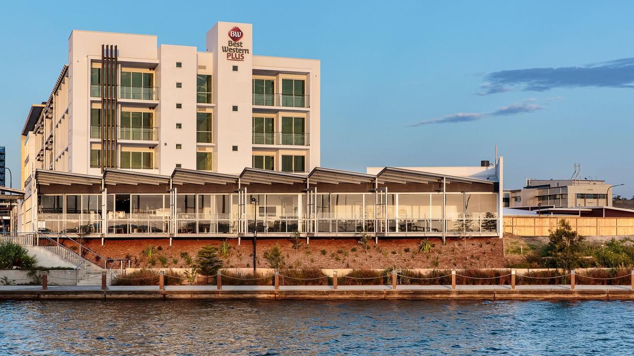 The Best Western Plus Lake Kawana hotel on the Sunshine Coast.