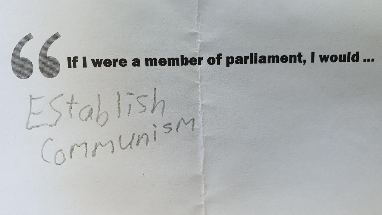 Yes, comrade! Picture: Jessica Marszalek