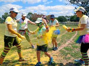 Explode with colour at school event