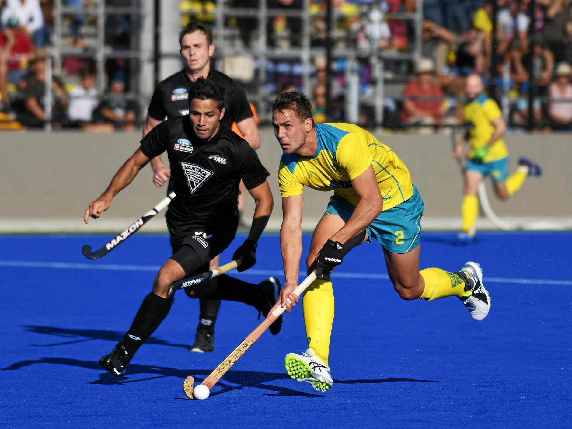 Australia and New Zealand are playing in the Oceania Cup in Rockhampton this weekend.