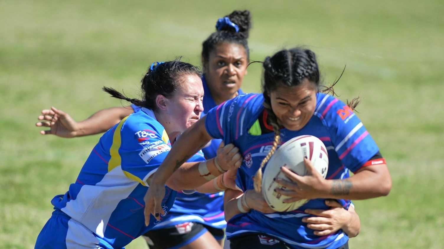Moranbah v Souths Sharks RLM women's semifinal.