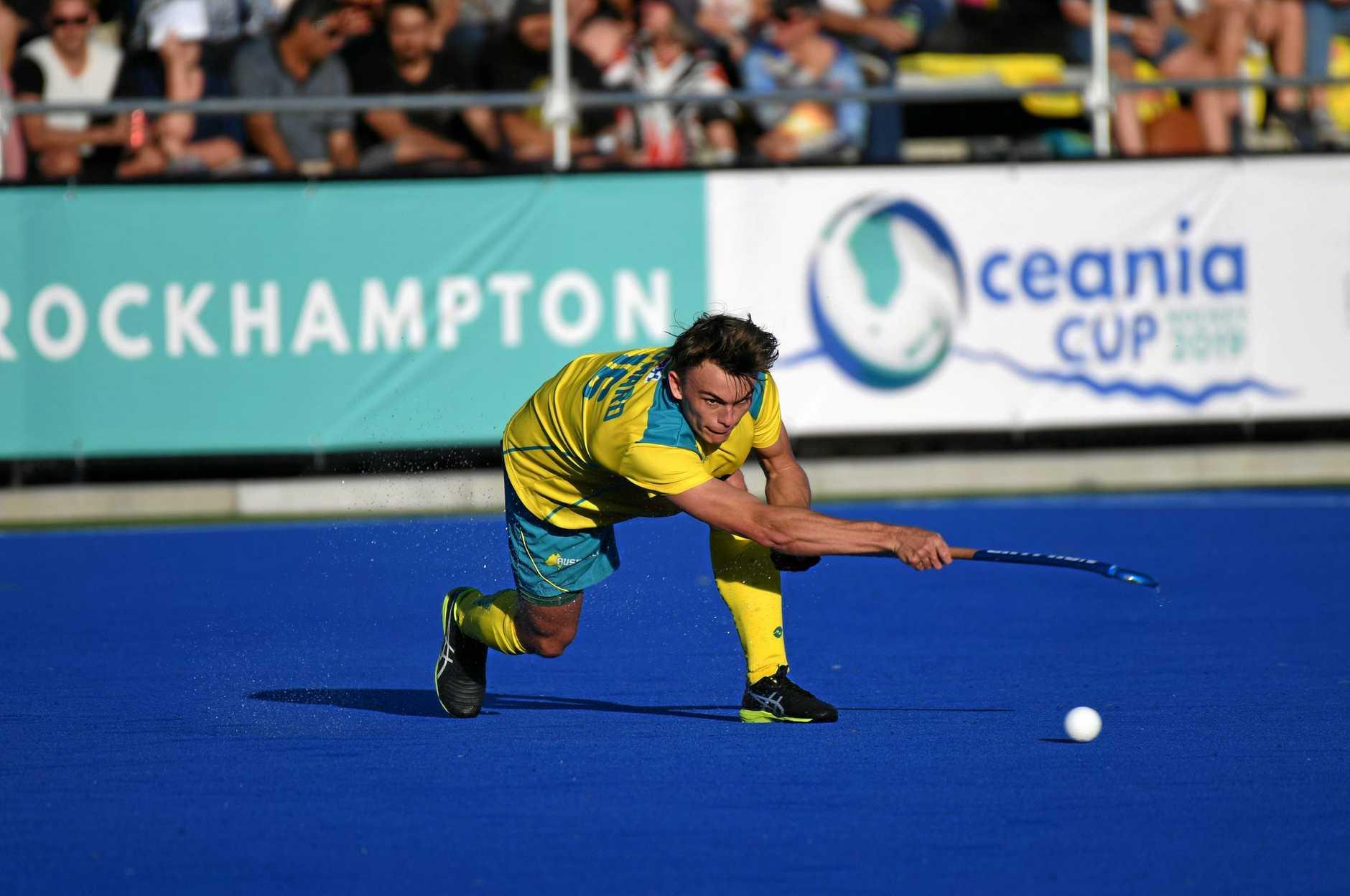Australias Tim Howard.