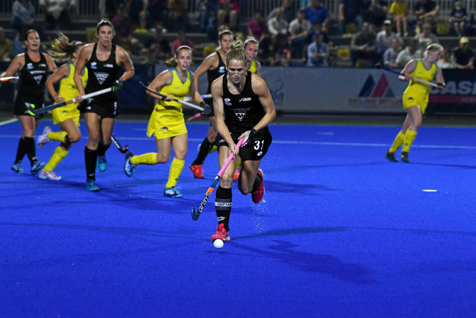New Zealand's Stacey Michelsen.