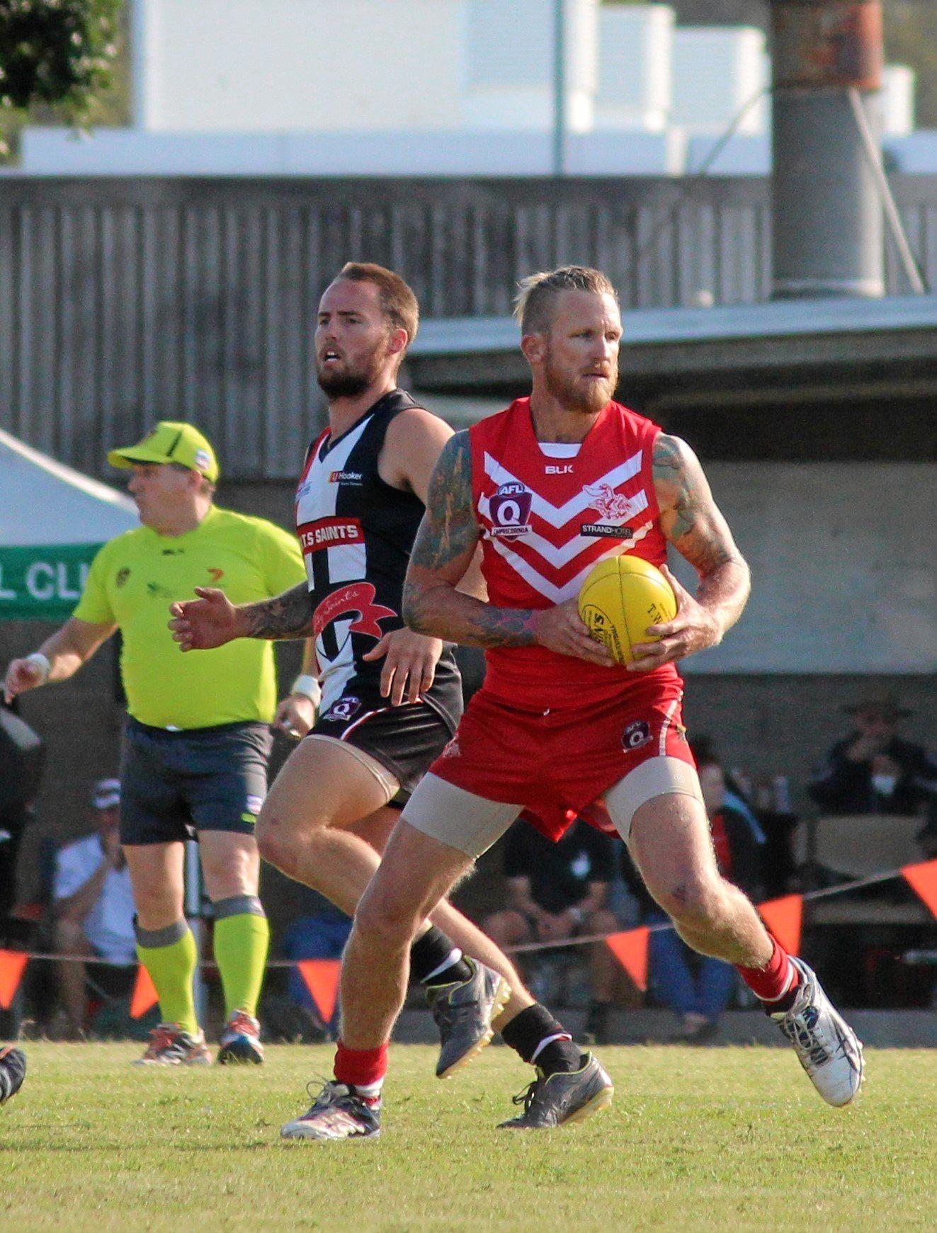 BIG GAME PLAYER, WES HAWKE LOVES PLAYING THE SAINTS, AND WILL BE PRIMED FOR THIS ONE.