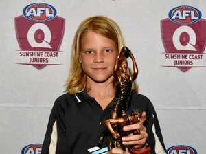 Young gun Gympie Cats centre wins best and fairest