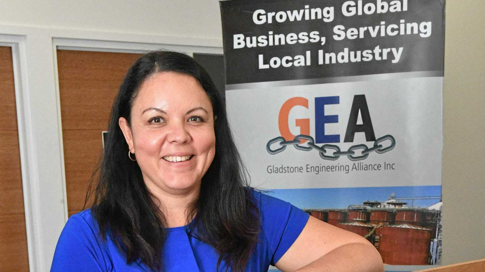 NEW FACE: Chantale Lane is the new Acting General Manager Gladstone Engineering Alliance.