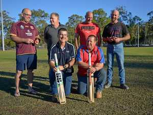 PHOTOS: It's the first step toward a veterans' cricket comp