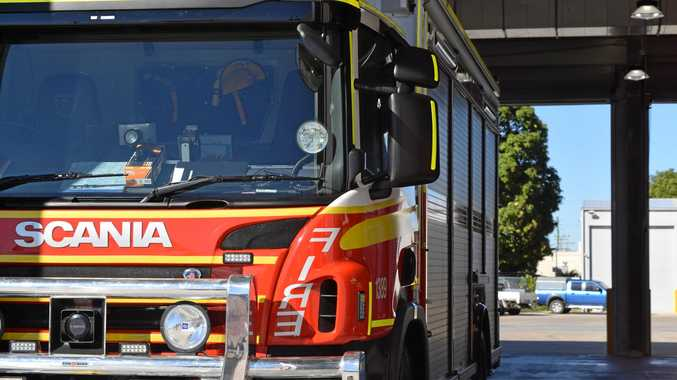 Authorities treat shed fire as suspicious