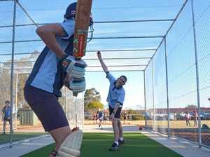 South Burnett junior cricketers net new facility