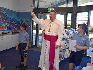 'GOOD NEWS DAY': Bishop blesses new school buildings
