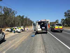 BREAKING: Crews responding to car and truck crash