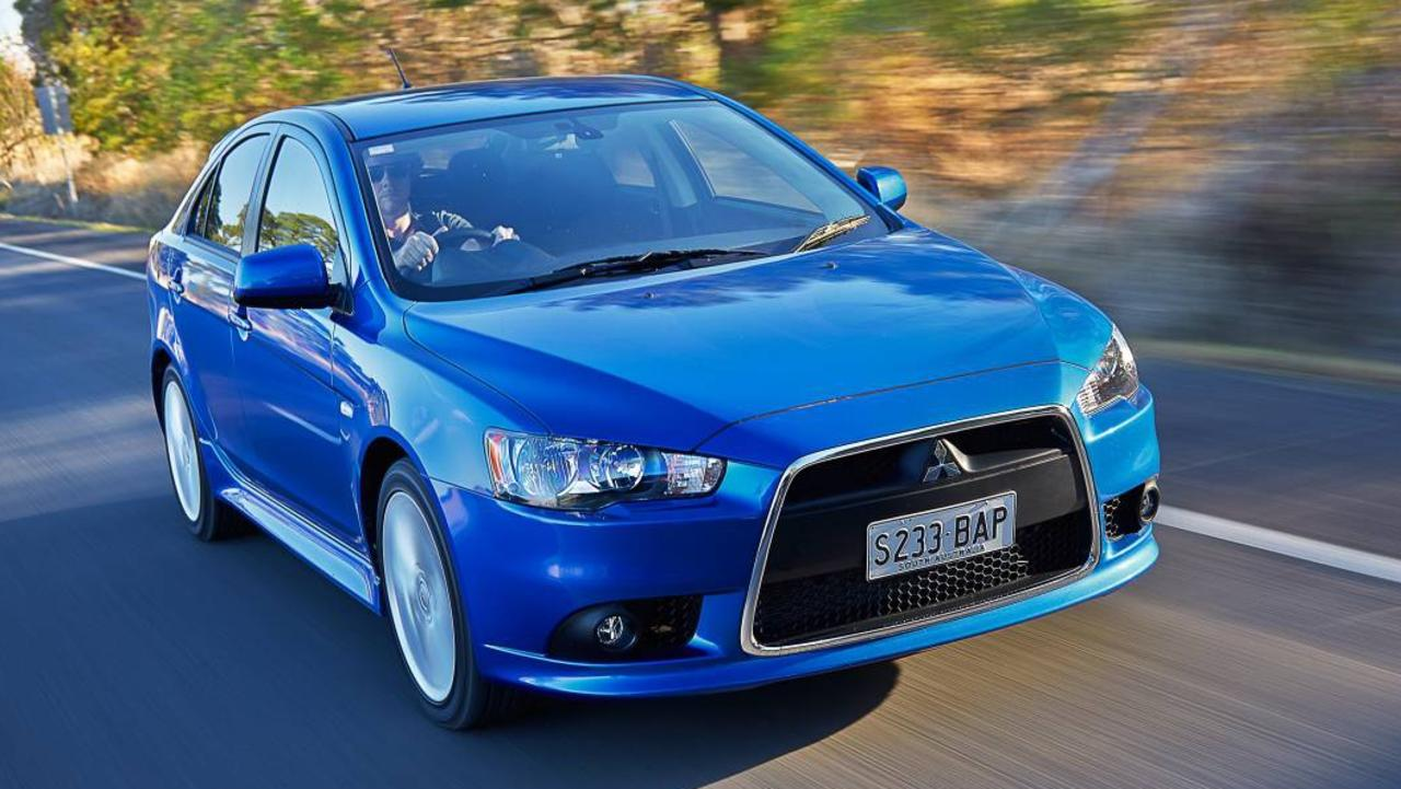 Mitsubishi's Lancer has been a victim of our obsession with SUVs. Picture: Supplied