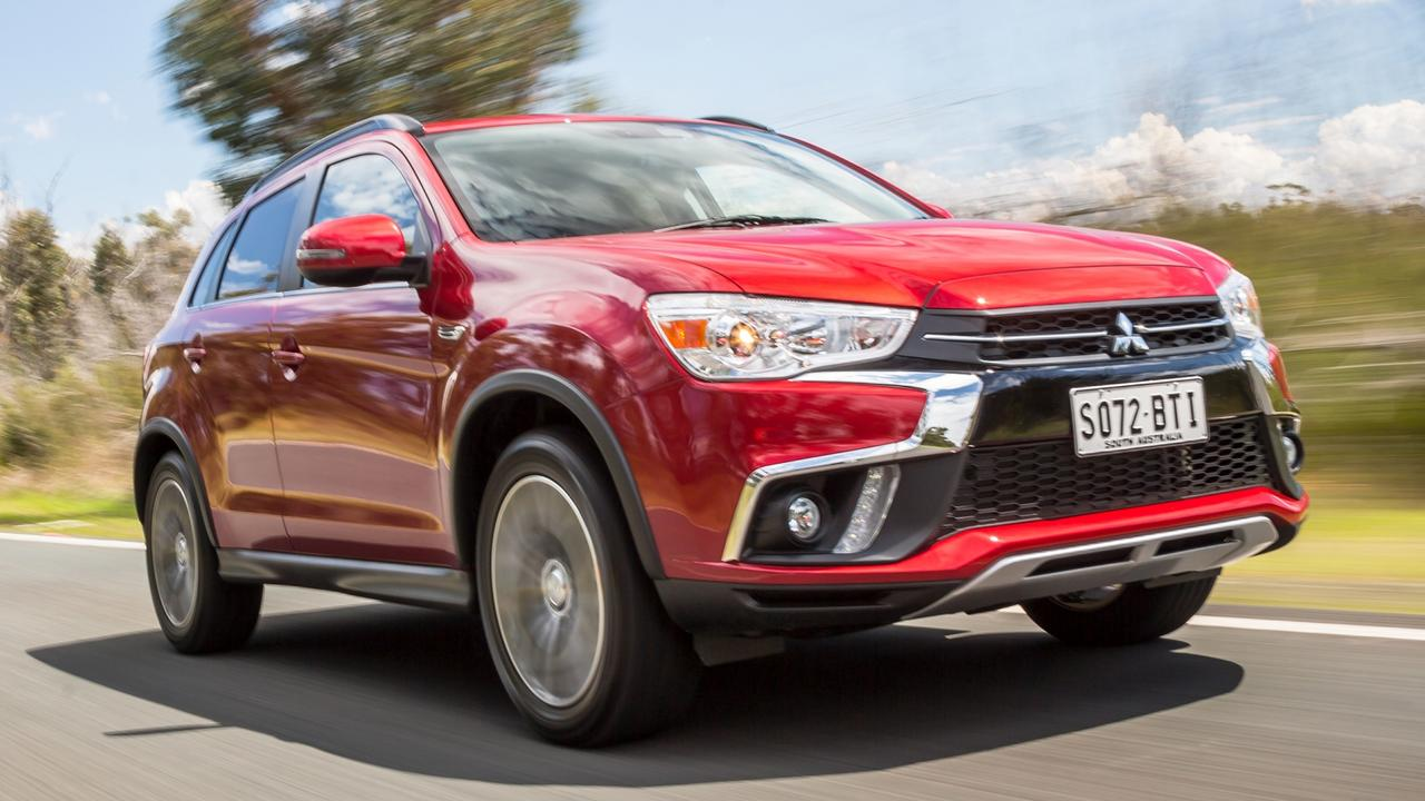 Mitsubishi ASX: SUVs are taking over and it is among the top sellers. Picture: Thomas Wielecki.