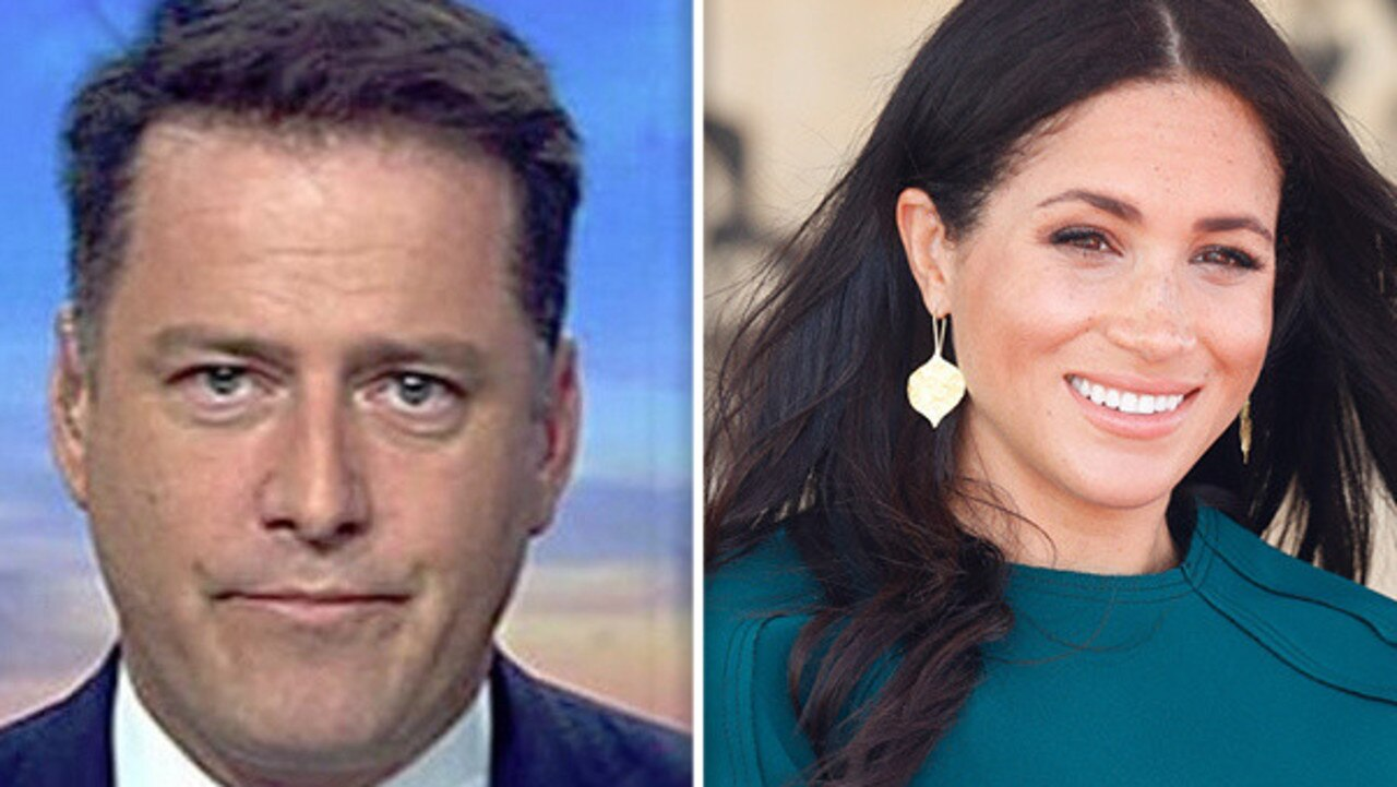 Karl Stefanovic and 60 Minutes have landed in hot water for an upcoming segment on Meghan Markle.