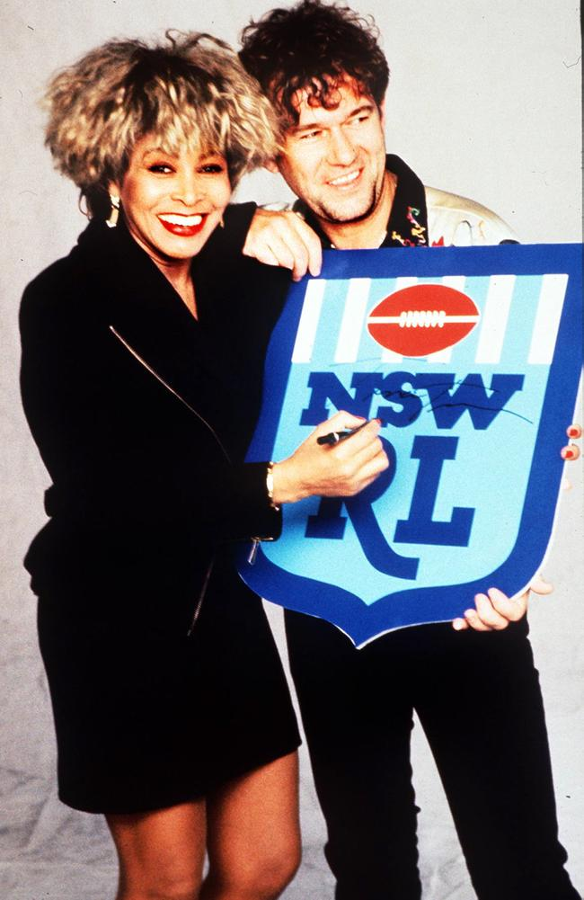 Barnesy teamed with Turner to remake (Simply) The Best. Picture: Supplied.