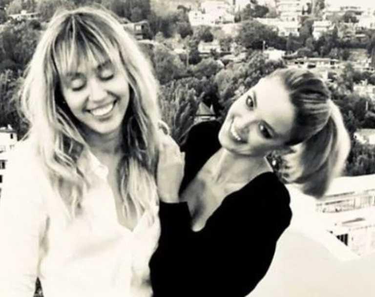 Miley Cyrus and Kaitlynn Carter celebrate Kaitlynn's 31st birthday. Picture: @kaitlynn