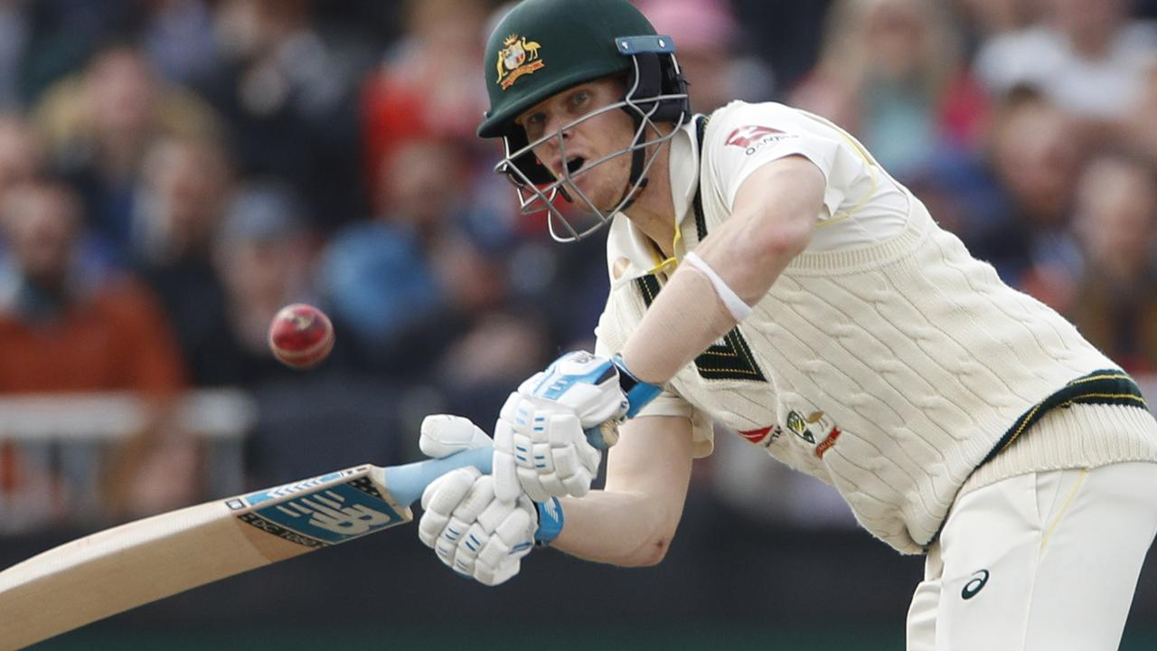 Smith was in complete command of his game and the English simply had no answer for him.