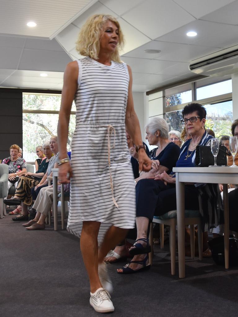 SPRING FASHION: Michelle Spencer at Cancer Council Queensland Noosa Branch's annual fashion fundraiser. Photo: Caitlin Zerafa