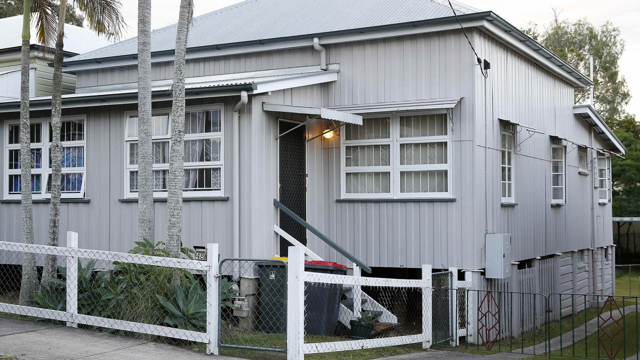 The contentious investment property in Abingdon Street, Woolloongabba. Picture: Josh Woning/AAP