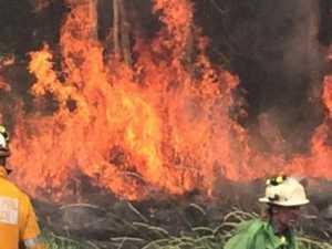 Firestorm brews as fireys battle five blazes overnight