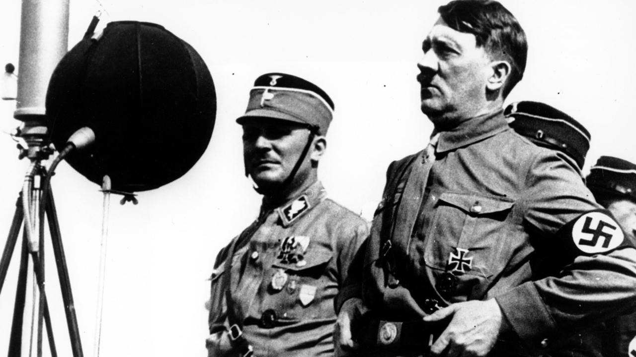 Adolf Hitler in March 1933, six years before the war began Picture: AP