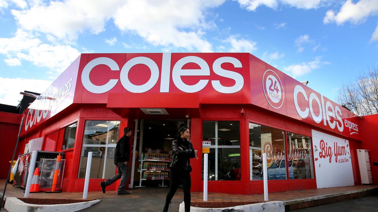 Coles. Stuart McEvoy for The Australian.