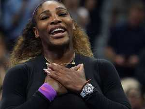 Records tumble in Serena rout but one still to fall