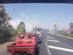 Water bomber targets Stanthorpe fires