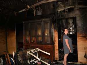 IN PICTURES: Coast family's bushfire devastation