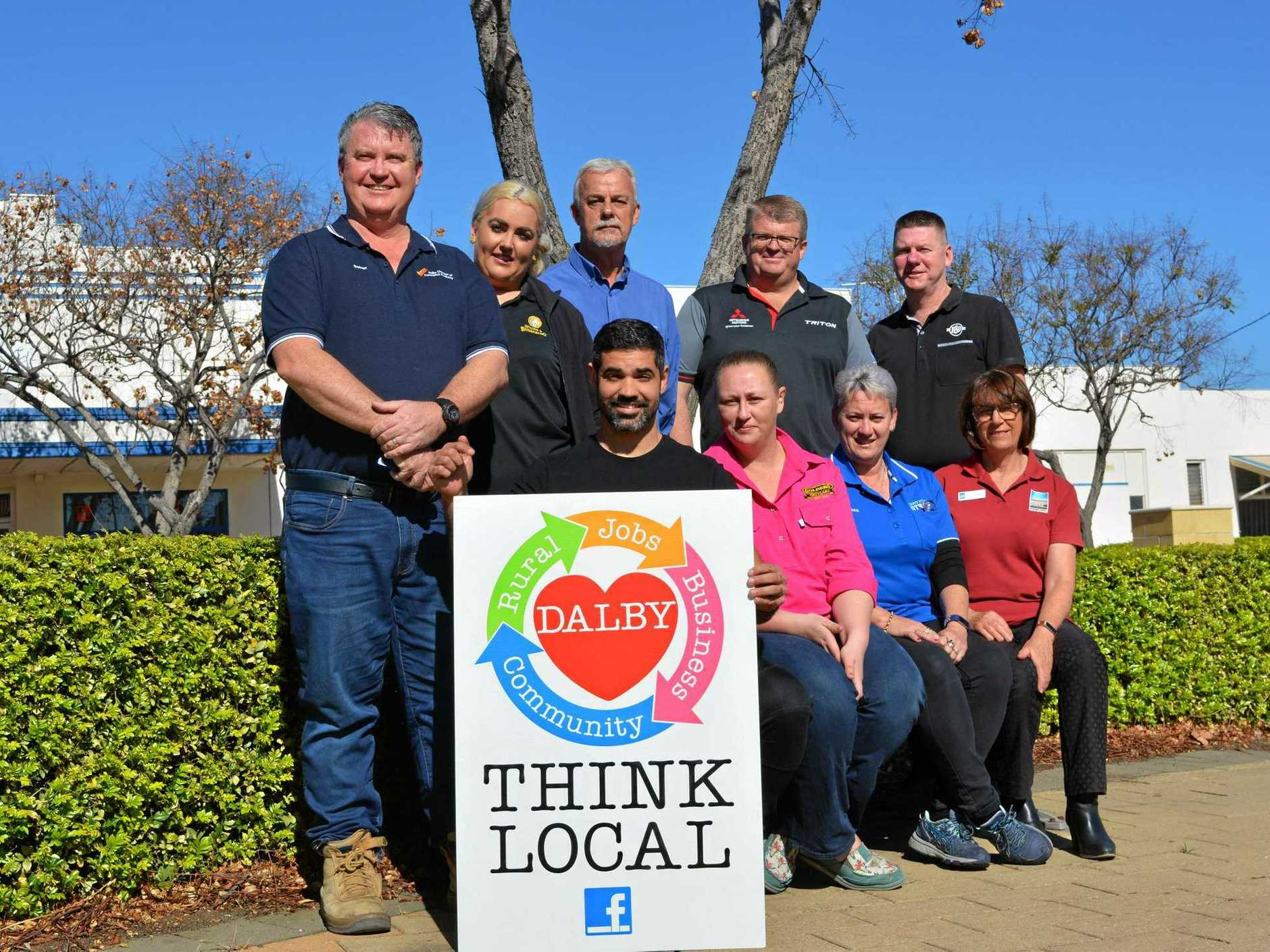 LOCAL FOCUS: The Think Local, Love Dalby campaign kicked off this week, rewarding shoppers for choosing to support local.