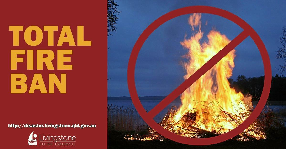 FIRE BAN: This weekend, a total fire ban is in place around CQ.