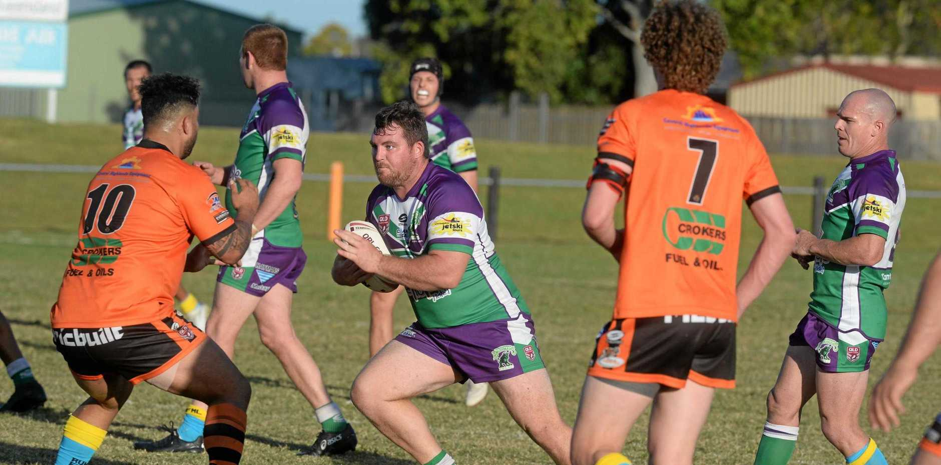 Whitsunday Brahmans will clash with Wests Tigers in the A-Grade men's Mackay rugby league grand final.