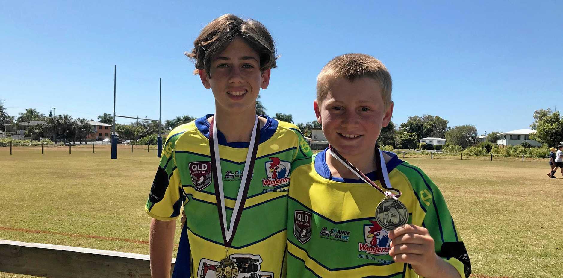 Wanderers Under-13 players Fraser Camilleri aKooper Shears saved won their team the 2019 grand final.