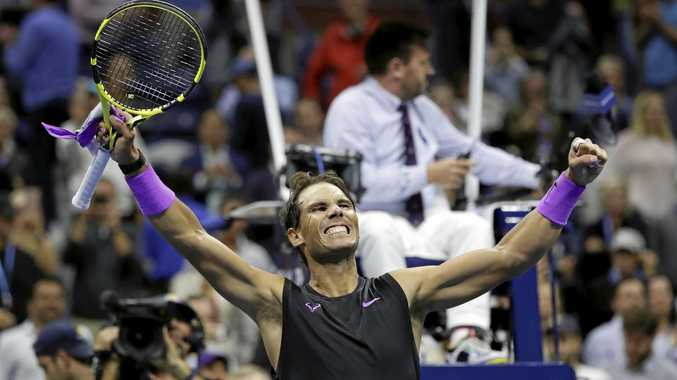 Nadal books US Open final date with Russian upstart