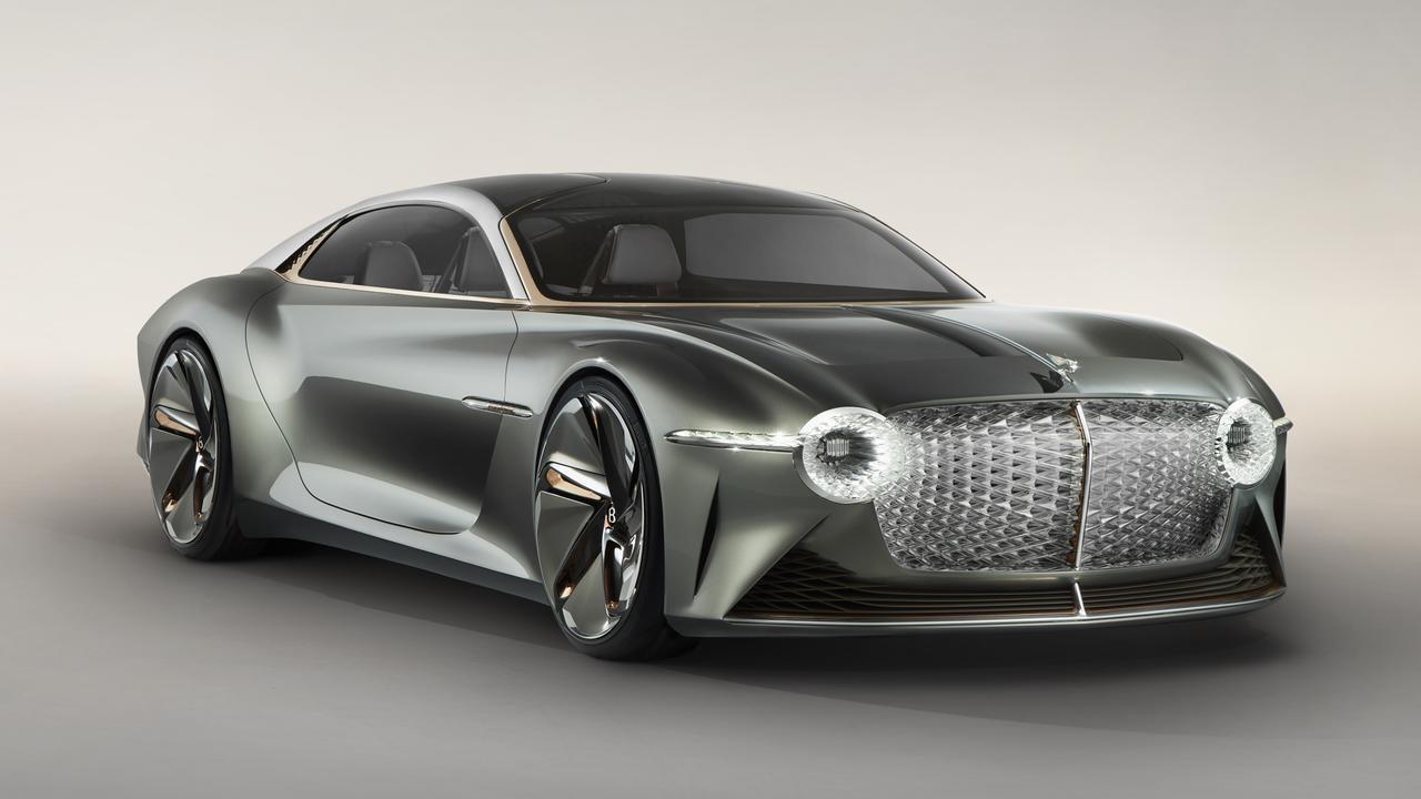 The Bentley EXP 100 GT.