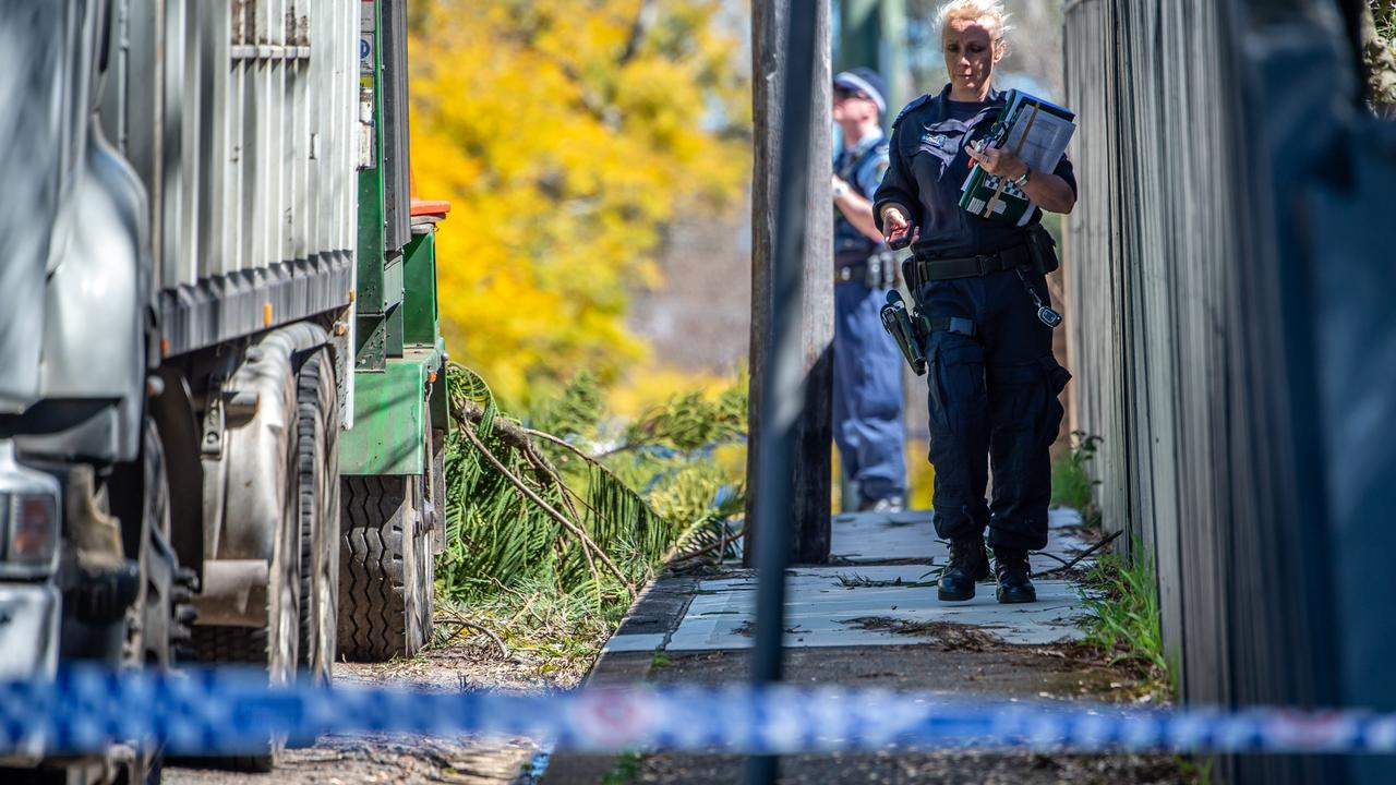 CRIME SCENE: WORKPLACE ACCIDENT DECEASED - LINDFIE