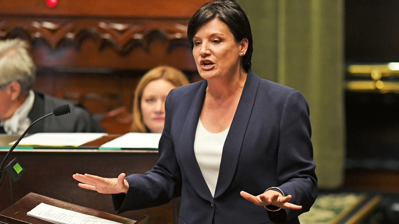 McKay speaking during question time in Parliament in July, a month after becoming the NSW Opposition Leader. (Picture: AAP)