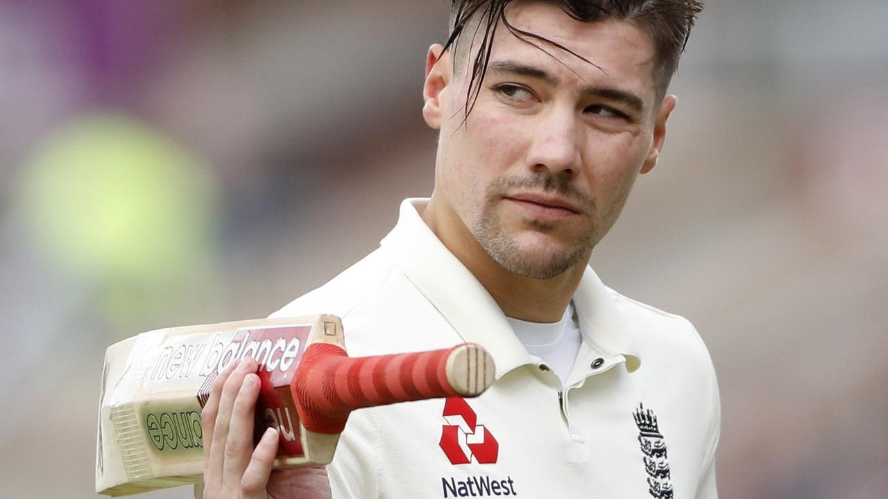 England opener Rory Burns has earned grudging respect from the Australians.