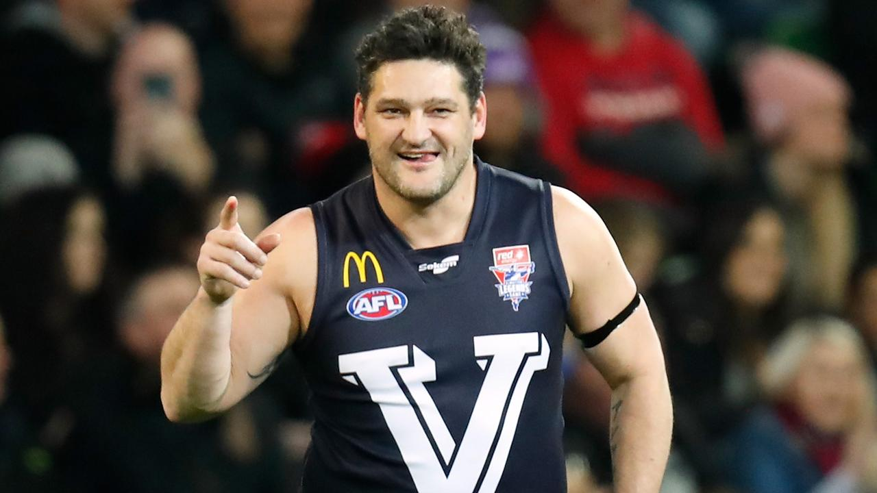 Brendan Fevola's kicked plenty of goals on the field, but it was a classy move off the field that won him a new legion of fans. Picture: Getty Images