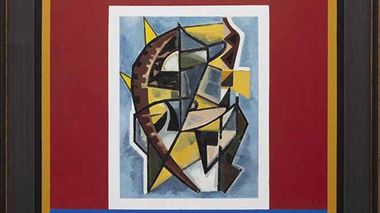 At Caloundra Regional Art Gallery is Diena Georgetti's Taliska 2018.