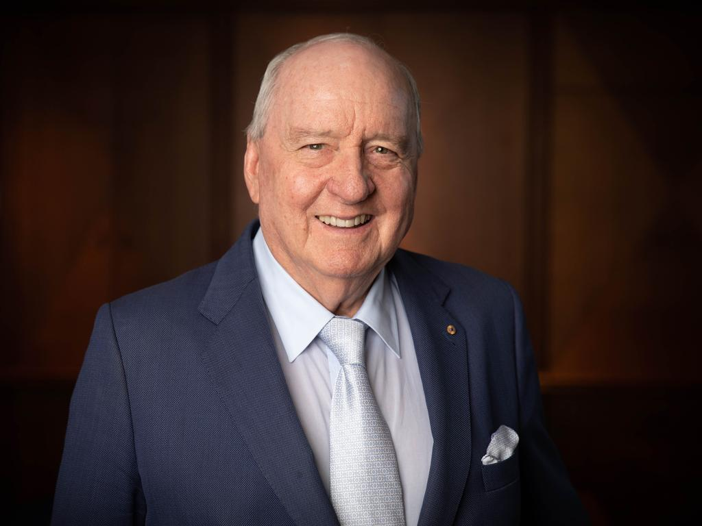 2GB Radio Broadcaster Alan Jones. Picture Renee Nowytarger/The Australian