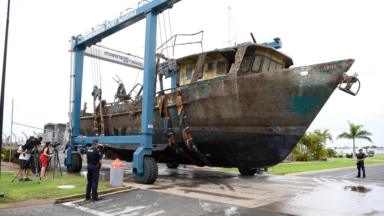The MV Dianne at the Bundaberg Port Marina.