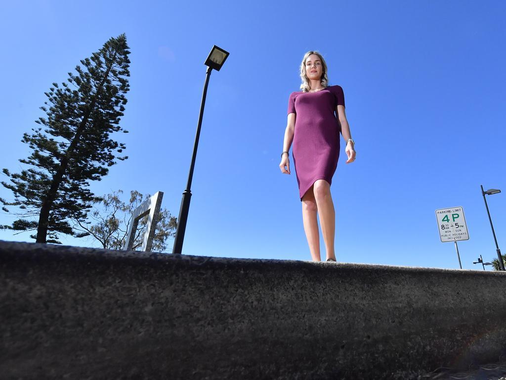 Paige Salisbury wants the council kerbside pickup to be reintroduced. Photo: John McCutcheon / Sunshine Coast Daily
