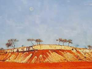 Colours of the outback revisited in artworks