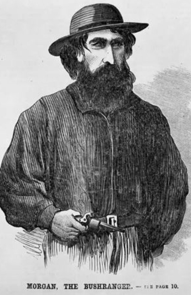 Morgan, the bushranger.