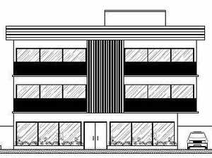 Complex with shops, units approved for residential area